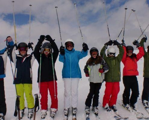 آموزش زبان و اسکی در سوئیس